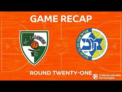 Highlights: Zalgiris Kaunas - Maccabi FOX Tel Aviv
