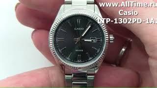 Обзор. Японские наручные часы Casio LTP-1302PD-1A1