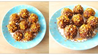 Orange Pecan Truffles (gluten, Dairy & Refined Sugar Free!)