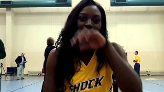 Tiffany Jackson - 2011 Tulsa Shock Media Day