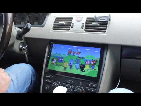 """Volvo XC90 бюджетный вариант замены магнитолы  на 10"""" монитор Android"""