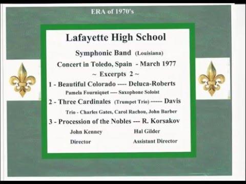 Toledo Spain Concert 1977 Excerpts 2