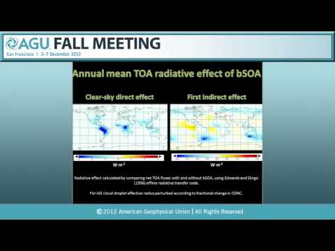 A42D. Interactions Between Tropospheric Chemistry and Climate I - 2012 AGU Fall Meeting