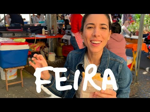 BRAZILIAN VOCABULARY in Real Life: Farmers Market  Speaking Brazilian