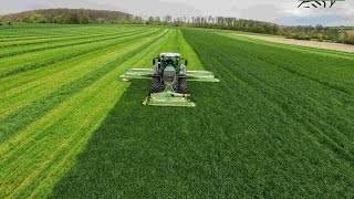 Fendt 930 Vario mit Krone Easycut B1000 CV Collect [Agrarservice Pascal Braun]