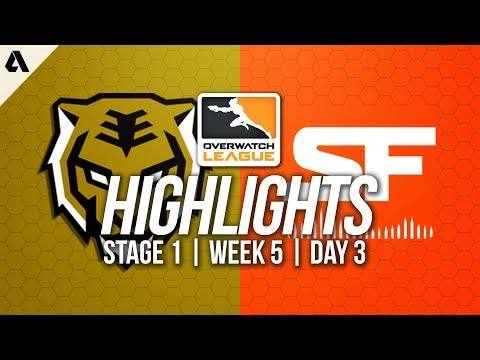 San Francisco Shock vs Seoul Dynasty | Overwatch League Highlights OWL Week 5 Day 2