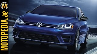2015 VW Golf R Review - تجربة فولكس فاجن جولف ار - Dubai UAE by Motopedia.ae