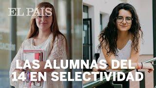 SELECTIVIDAD | Las dos estudiantes que han obtenido un 14 de 14 | España