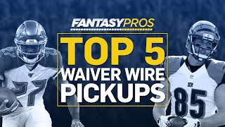 Week 5 Waiver Wire Pickups (2019 Fantasy Football)