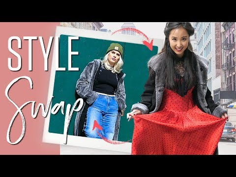 Asian & Western Girls Swap Styles | Try on Challenge
