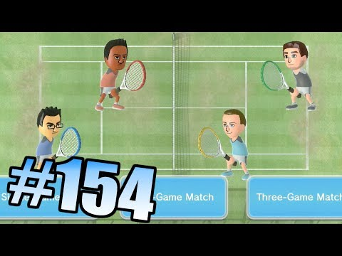 Wii Have Fun #154: Wii Sports Club Tennis (Game 2)