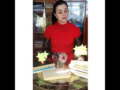 Изображение предпросмотра прочтения – НадеждаГайдук читает произведение «Послушайте! (Послушайте! Ведь, если звезды зажигают…)» В.В.Маяковского