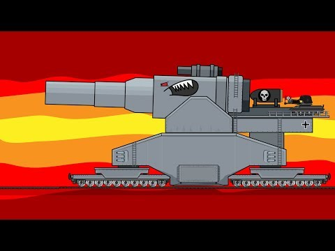 """Scramble of Titans"" Cartoons about tanks"