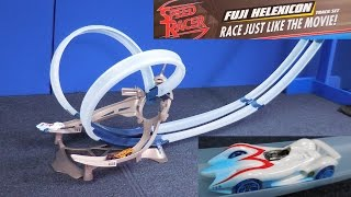Hot Wheels Speed Racer Fuji Helexicon Track Set From Mattel 2008