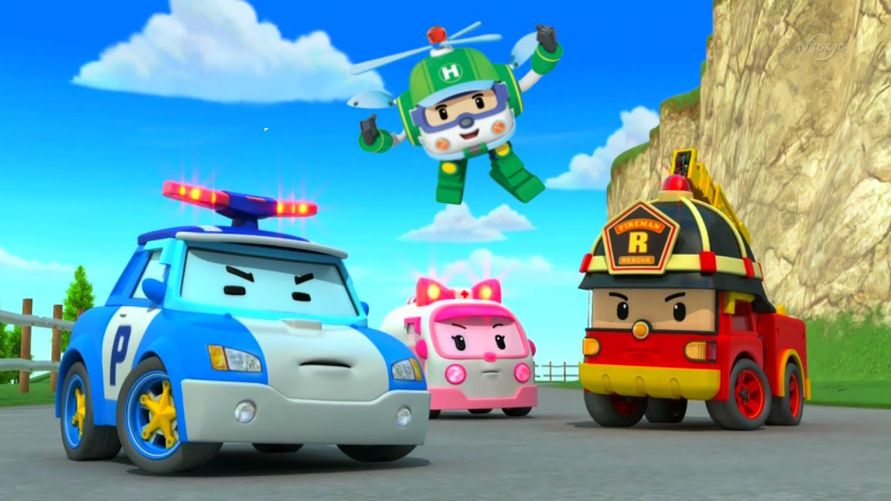 Robocar poli toys youtube - Robot car polly ...