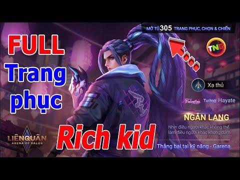 Liên quân Rich Kid là NTN 🎁 Đập Hộp Hayate ngân lang và airi mị hồ sổ sứ mệnh mùa 14 TNG