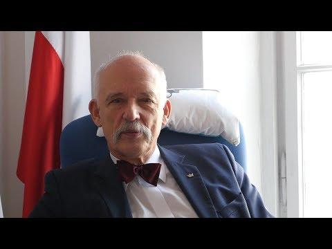 """Korwin-Mikke WYWIAD """"POCZĄTEK LEGENDY"""" - Spotkania z Friedmanem i strajki w stoczni"""