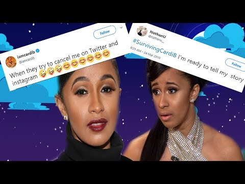 Cardi B leaves Twitter after Surviving Cardi B hashtag