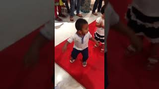 In Bangalore central mall- just for fun dance