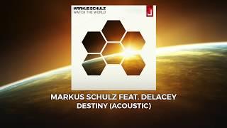 Скачать Markus Schulz Feat Delacey Destiny Acoustic
