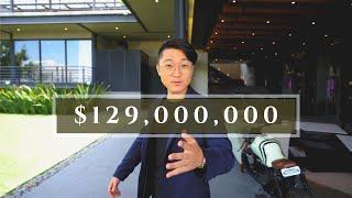 $129 MILLONES! CASA con AUTOS de exhibición