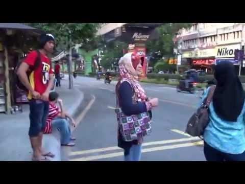 Walking in Kuala Lumpur, Malaysia