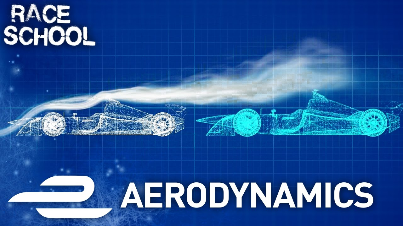 Race School Aerodynamics Downforce Slipstreams Explained Formula E
