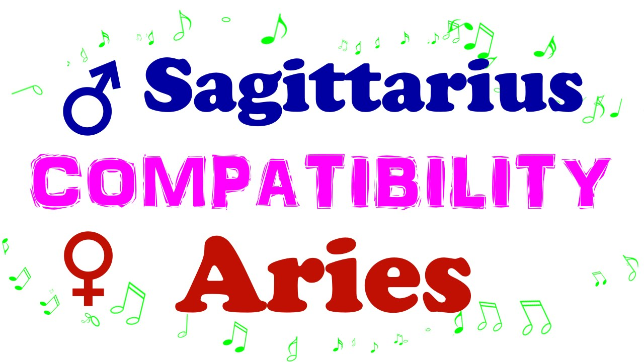 ♂ Sagittarius and ♀ Aries COMPATIBILITY Horoscope Astrology Psychic Reading