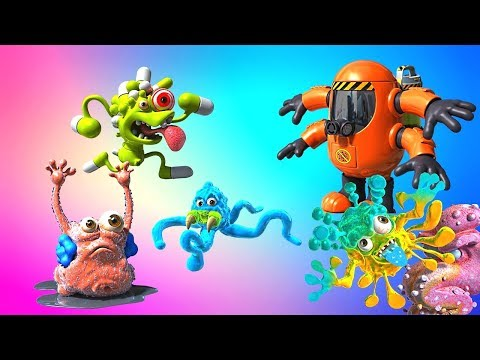 Фунгус Амунгус мультик. Забавные монстрики микробы