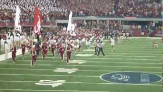 2012 Alabama Crimson Tide Football Introductions at the Cowboys Classic