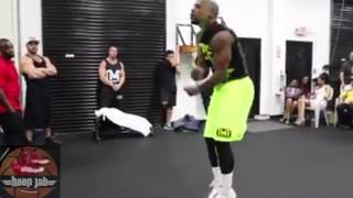 floyd mayweather late night training session for fight with manny pacquiao may 2nd 2015