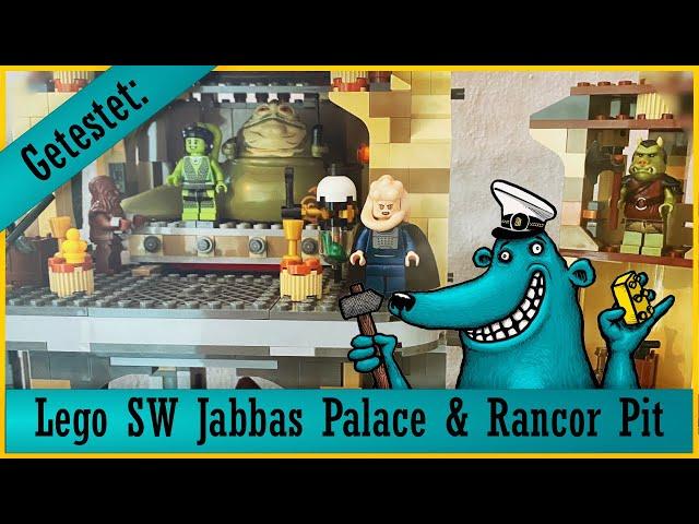 Lego Star Wars Jabbas Palace 9516 + Rancor Pit 75005: Grandiose Spielsets aus glorreichen Tagen?