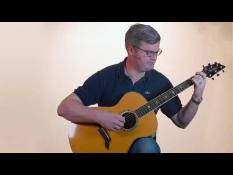 Here, There & Everywhere arranged for solo guitar, performed on a Breedlove 25th Anniversary Brazil