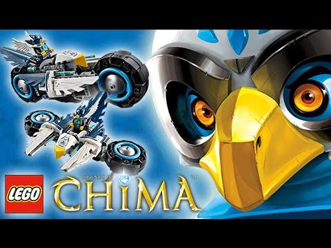 LEGO Chima [70007]: Unbox & Montagem Eglor e sua Moto que Vira Nave!  [Parte 02/02]