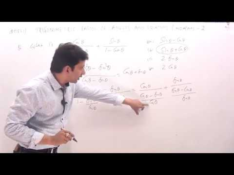 NDA/NA Trigonometric function & Equations previous year NDA question papers solutions-1