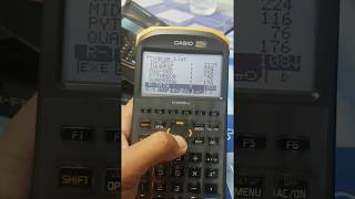 Surveying program for casio fx-fd10 pro