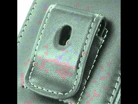 PDair Leather Case for Samsung Fascinate Galaxy S SCH-i500 - Vertical Pouch Type Belt clip
