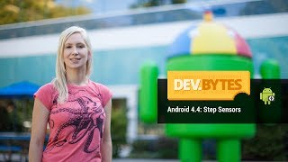 Android 4.4: Step Sensors