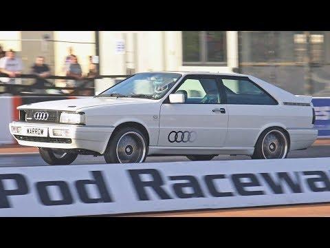 Audi Coupe Quattro B2 at Santa Pod Raceway - 12.43 at 112 mph