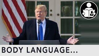 Body Language: Trump Declaring National Emergency for Border Wall