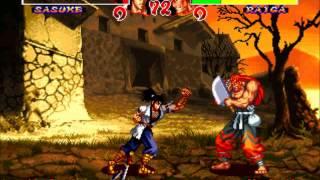 Ninja Master's(Neo-Geo/Arcade)Sasuke Playthrough
