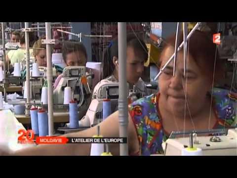 MOLDAVIE : le nouvel atelier du textile de l