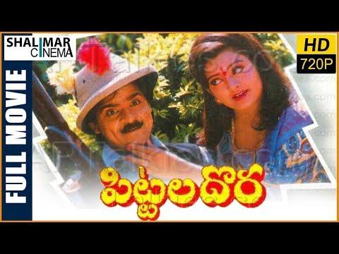 Pittala Dora Telugu Full Length Comedy Movie || Ali, Indraja, Brahmanandam || Shalimarcinema