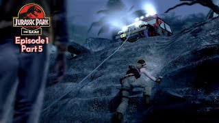 Jurassic Park: The Game - Ep 1: The Intruder (PC) - Part 5: Chaos is Coming...