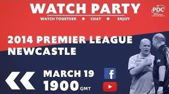 PDC WATCH PARTY | Premier League Darts | Newcastle 2014