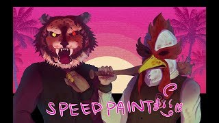 Hotline Miami [SPEEDPAINT]