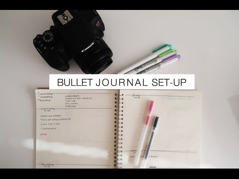 Jane's Bullet Journal + First Day of Surgery and Psych | Med School Vlog