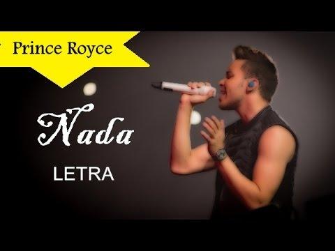 Prince Royce  Nada Letra HD
