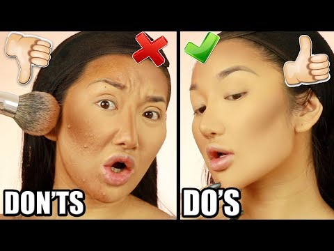 HOW TO CONTOUR FOR BEGINNERS (DRUGSTORE DUPES)   HIGHLIGHT & CONTOUR DO'S AND DON'TS