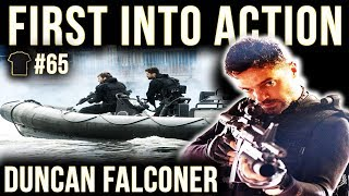 FIRST Into Action | Duncan Falconer | Special Boat Service | SBS | Royal Marines | Author